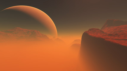 Roter Planet 3