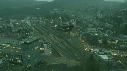 Time lapse - Switzerland, Baden