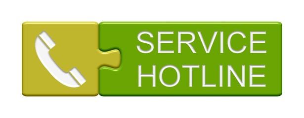 Puzzle Button: Service Hotline