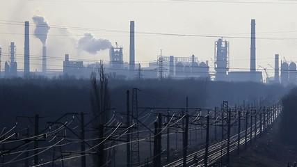 Factory Smoke stack