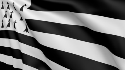 Flag of Brittany - 002