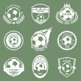 Soccer emblems poster