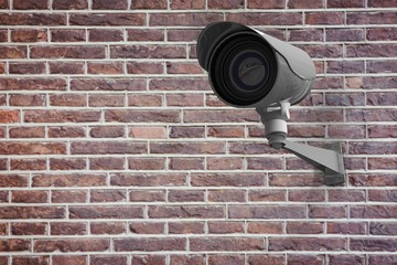 Composite image of cctv camera