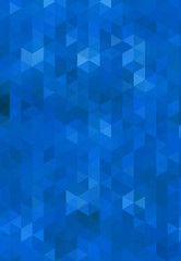 abstract light blue bacground from triangles