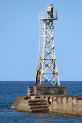 網田海岸の灯台