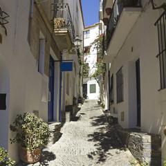 Mediterranean alley, Costa Brava, Spain
