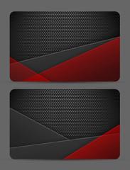 metallic textured vector template