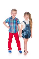 Fashion happy children