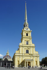 St. Petersburg, Peter and Paul Cathedral