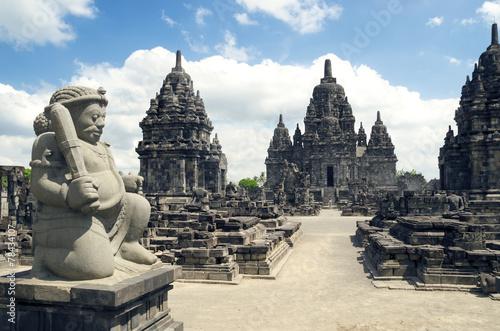 Foto op Plexiglas Indonesië Ruins of Prambanan