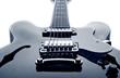 Leinwanddruck Bild - blues guitar dream