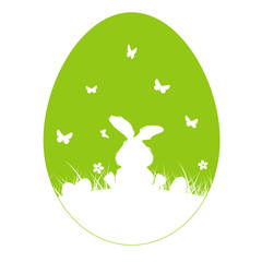Easter Background Shape