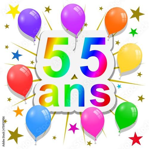 Anniversaire 55 ans photo libre de droits sur la banque d 39 images image 78435986 - Clipart anniversaire 60 ans ...