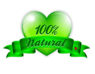 Love Natural Banner