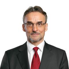 Mann mit Brille / Passfoto