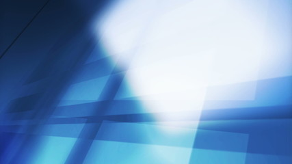 Blue Motion Business Background with Animated Squares, 1920x1080