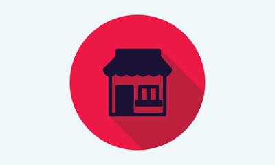Store icon.Commercial symbol. Shop icon.