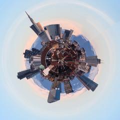 Panorama circolare di Milano