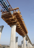 building a highway bridge - 78438390