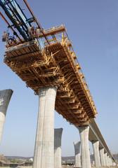 building a highway bridge