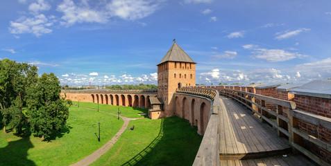 Combat course of the Novgorod Kremlin
