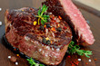 Leinwanddruck Bild - Steak