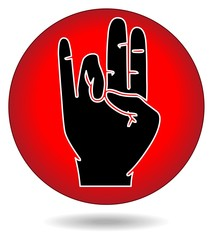 Hand mark style