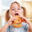 canvas print picture - Kind beim Essen