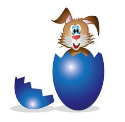 Hase aus Ei