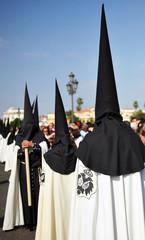 Hermandad de Semana Santa en Sevilla, Andalucía, España