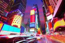 "Постер, картина, фотообои ""Times Square Manhattan New York deleted ads"""