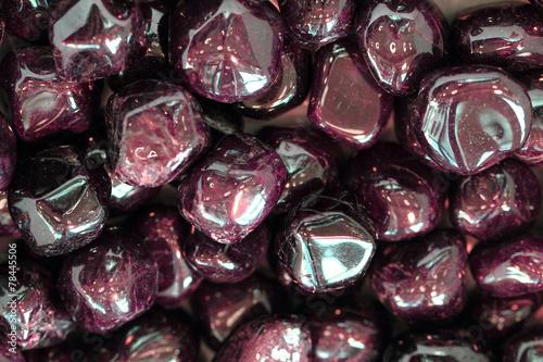 Aluminium Edelsteen red garnets gems