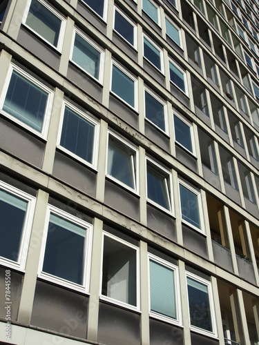 canvas print picture Hochhaus Hansaviertel Berlin