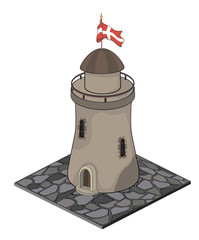 A video game object: Watchtower