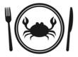 a menu of crab - 78446797