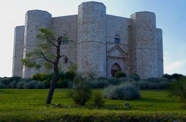 Castel del Monte, Unesco heritage in the south of Italy, Apulia