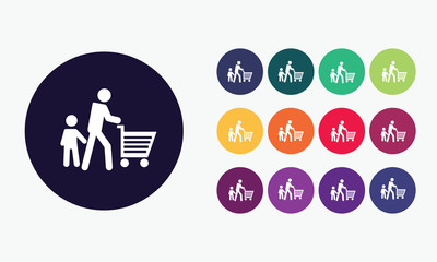 Shoppers icon.