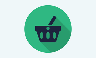 Shopping basket icon.
