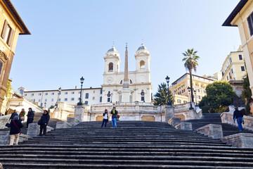 Spanish Steps at morning