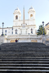 Spanish Steps at morning