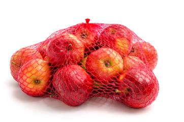 Äpfel im Netz