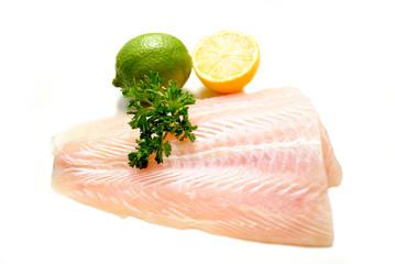 Organic White Fish with Lemon & Lime