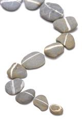 Steine und Weg