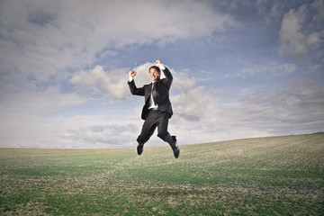Employee feeling free