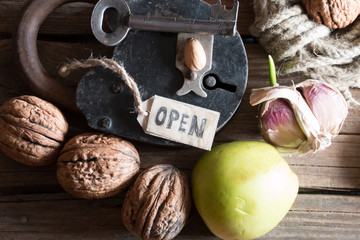 open, grocery store
