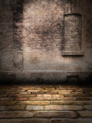 Stone Wall interior Stage