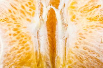 Orangen-Makro
