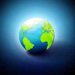 World Icon Symbol Background