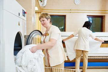 Hotel linen washing service