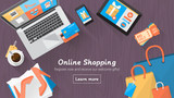 Online shopping desktop